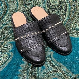 Black A New Day Slip ons backless